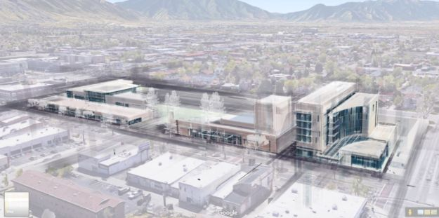 Provo's Proposed New City Center