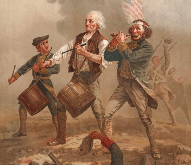 American Patriots Marching